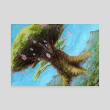 The Light Tree - Canvas by Rido K