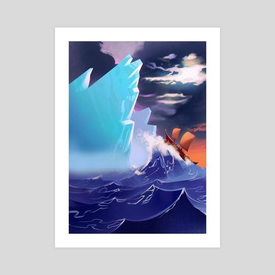 The ice World by Elias Neophytou