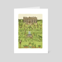 Topiary - Art Card by Brendan Kearney