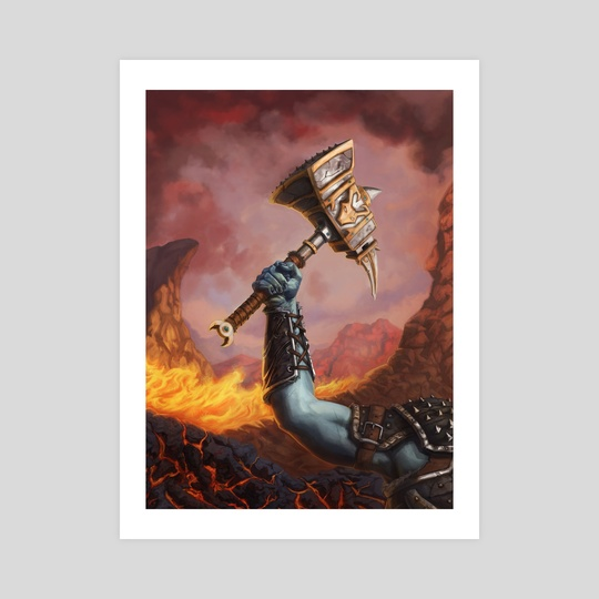 Crimson Hammer by Andrew Cefalu