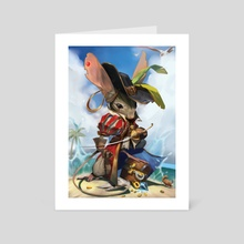 Jerbeen Swashbuckler - Art Card by April Prime