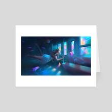 Somewhere not here - Art Card by Rainy Nova