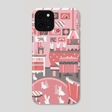 Rabbits - Phone Case by Mariia Krugliakova