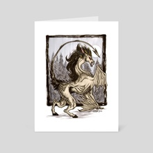 Jersey Devil - Art Card by Kiri Yu