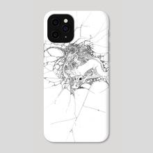 breach - Phone Case by Lan Prima