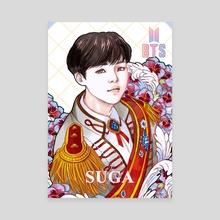 BTS SUGA Love Yourself - Canvas by ena beleno