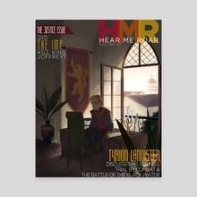 Hear Me Roar - Canvas by Andy Bennett