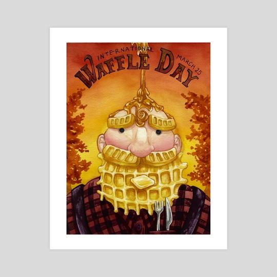 International Waffle Day by Amanda Shaffer