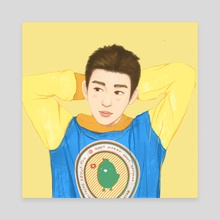 Just Right -Junior - Canvas by Kimmy Wong