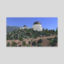 Griffith Park - Canvas by Russell Quinn