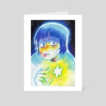 Star Holder - Art Card by Dani Clover-Flick