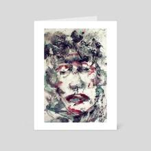 Ink-Male-1 - Art Card by wudufu