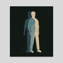 Dissonance 01 - Canvas by Reno Nogaj