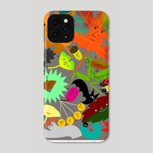 Fall Goodies - Phone Case by Subin Yang