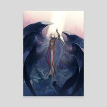 Messiah - Canvas by Shihoran
