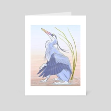 Tranquility - Art Card by Kristina Wiltse