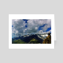 Aletschgletscher #5 - Art Card by HOHLBAUM.ART