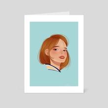 Skye - Art Card by Katty Montalvo
