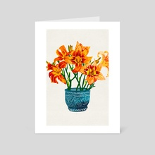 Lily Blossom - Art Card by 83 Oranges