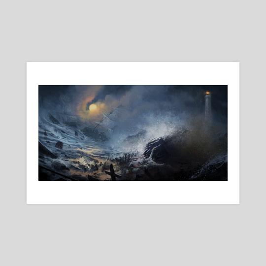 Lighthouse by Martin Johnson