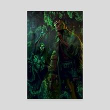 Hellboy - Canvas by Aldo Katayanagi