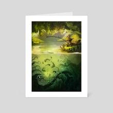 Fishy fishy - Art Card by Daniel Velu