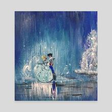 Cinderella - Canvas by Eliana Clemente