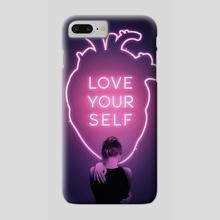 Love Yourself - Phone Case by Enkel Dika