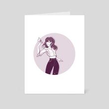 Maributterfly - Art Card by Mélanie Bouillat