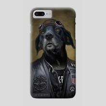 Portrait of Beast - Phone Case by Will von Dehl