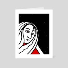 Sleeps. - Art Card by Patrick Whitehorn-Schmidt