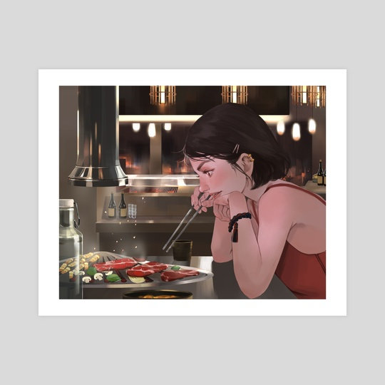 Hu - BBQ by Yingting