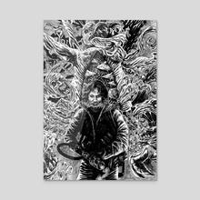 The Thing - Acrylic by Trav Hart