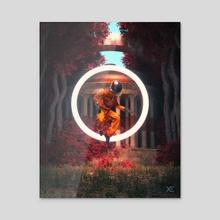 Origin Point - Acrylic by xeometry