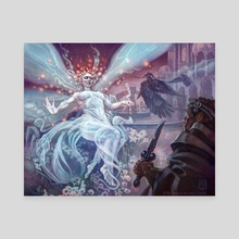 Faerie Guide Mother - Canvas by Chuck Lukacs