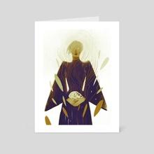 Carrier - Art Card by Martina Fischmeister