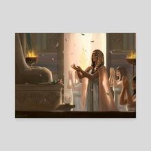 Sha-Amun-en-su - Canvas by Gislaine Avila