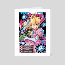 Sniper Peach - Art Card by PokuriMio