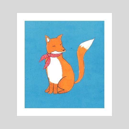 Fox by Tanya Doodles