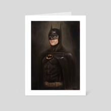 BATMAN - Art Card by Nico Di Mattia