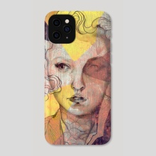 Girl 21 - Phone Case by Sara Blake