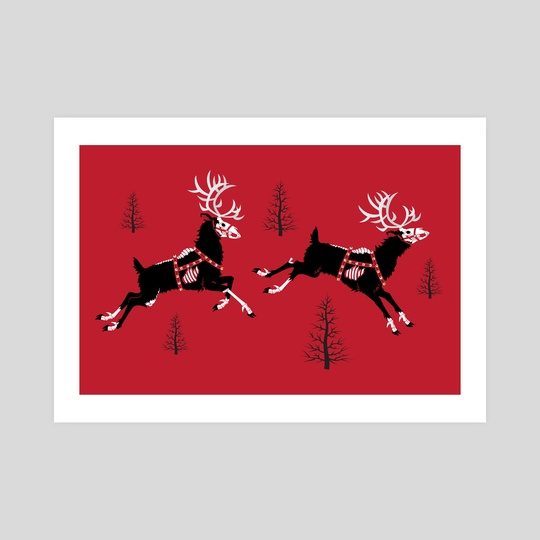 Undead Reindeer by Jennifer Smith