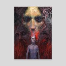 La Bile Nera - Canvas by Andrea Truant