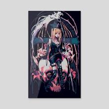 angel of death - Acrylic by vacuum