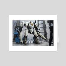 Robonaut Mars - Art Card by Roberto  Robert