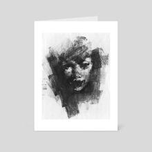 Sketch Head 11.03.17 - Art Card by Damian Goidich