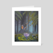 Deep Forest Secrets - Art Card by Arthur Herring