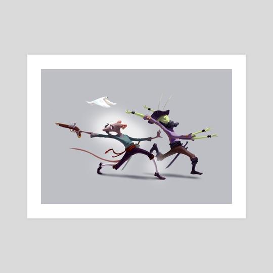 Arrrrr Run! by Tom Cech