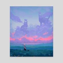 Royalty - Canvas by Matthew Tran