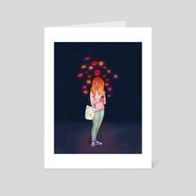 Interruption - Art Card by Sophie Calhoun